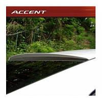Задний спойлер на стекло - Hyundai New Accent / Solaris (ARTX)
