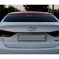 Задний спойлер на стекло LED - Hyundai Avante AD / Elantra AD (MORRIS)