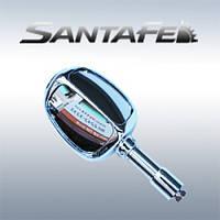 Зеркало безопасности универсальное - Hyundai Santa Fe DM / ix45 (COMATE)