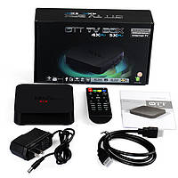 Приставка TV BOX 4Х Internet TV, телеприставка OTT TV Box MXQ Amlogic, приставка к телевизору