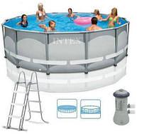 Каркасный бассейн INTEX (28310) с фильтром