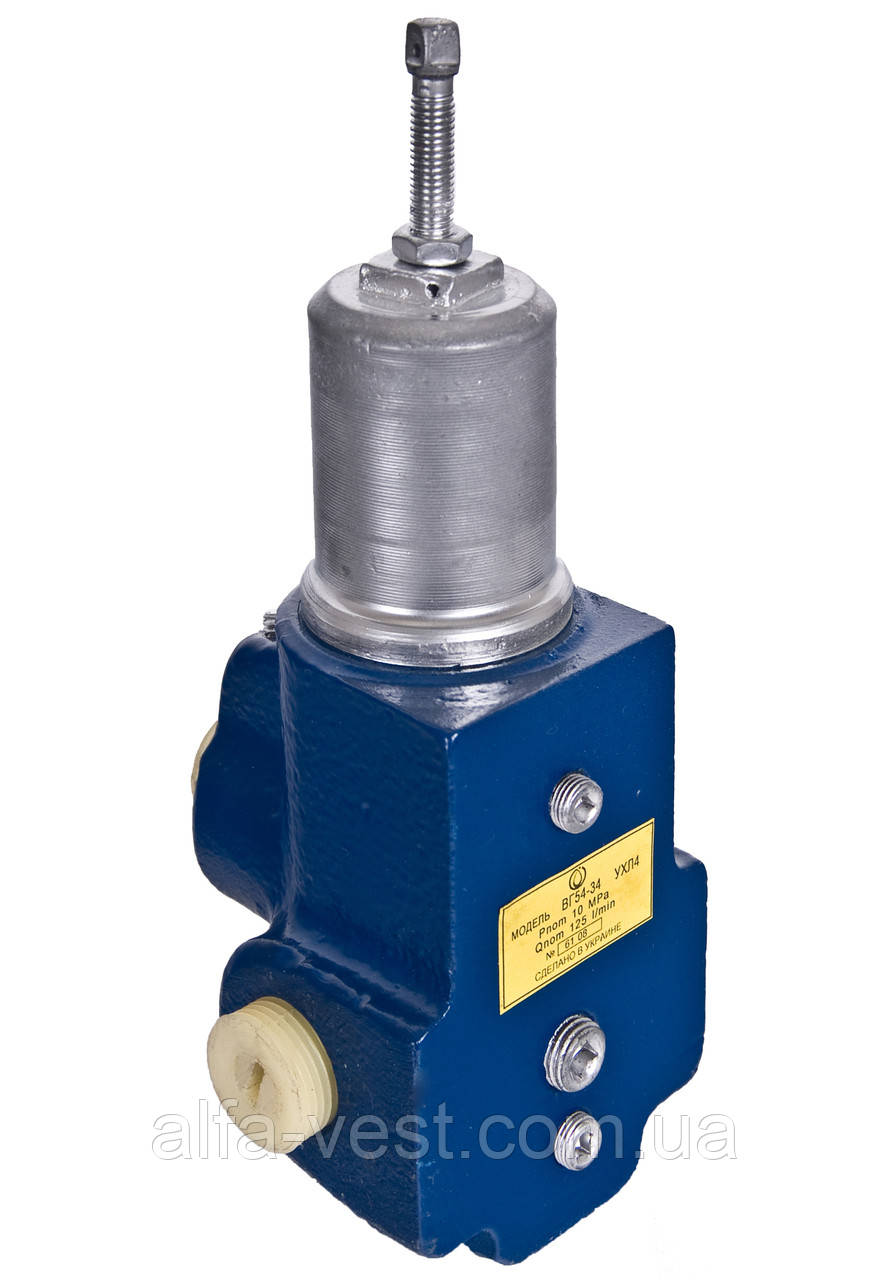 Гидроклапан давления ВГ54-35М