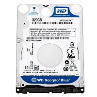 """HDD 2.5"""" SATA  320GB WD Blue 5400rpm 8MB (WD3200LPVT) гар. 12 мес."""