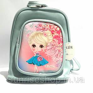 """Рюкзачок для девочки """"Милашка"""" голубой, фото 2"""
