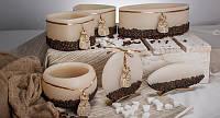Декоративный подсвечник RAK - Rustikal Kawa Lampion Okragly - Круглый Коричневый