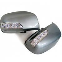 Корпуса зеркал LED Genesis Style (3Way ) - Hyundai Santa Fe CM (KABIS)