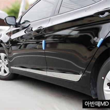 Молдинг дверей (нерж.сталь) - Hyundai YF Sonata / i45(KUMCHANG), фото 2