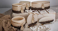 Декоративная свеча RAK - Rustikal Kawa Dysk Okragly - Диск круглый белый