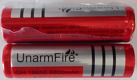 Аккумулятор литиевый  18650 Ultrafire 3.7V с защитой