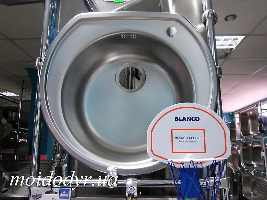 Кухонная мойка BLANCO RONDOVAL 535 мм х 490 мм полированная