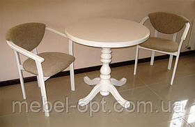 Круглый деревянный стол К2, фото 2