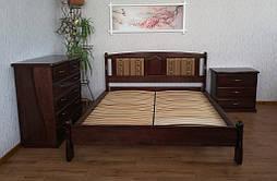 """Кровать деревянная """"Афина"""", покрытие - венге 2"""