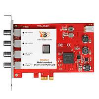 TBS6522 Multi-standard Dual Tuner PCIe Card