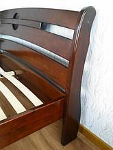 """Кровать """"Каприз"""" (200*160), массив дерева - ольха, покрытие - """"итальянский орех"""" (№ 462). 7"""
