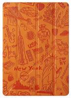 Ozaki Чехол-подставка Ozaki O!coat Travel New York для iPad Air 2 (оранж)