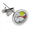 Термометр для воды, сыроварения  с клипсой 0°C +110°C