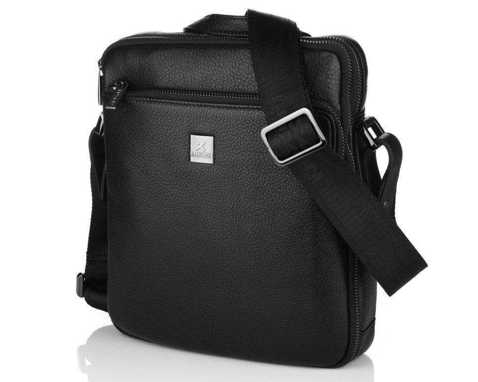 Кожаная мужская сумка Luxon 7813-3