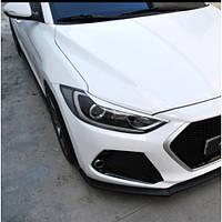 Реснички на фары - Hyundai Avante AD / Elantra AD (M&S)