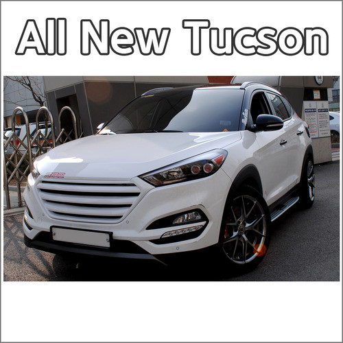 Решетка радиатора -  Hyundai All New Tucson TL (MORRIS)
