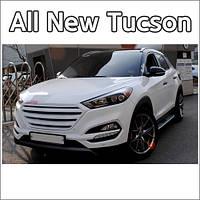 Решітка радіатора - Hyundai All New Tucson TL (MORRIS)