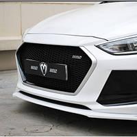 Решетка радиатора - Hyundai Avante AD / Elantra AD (M&S)