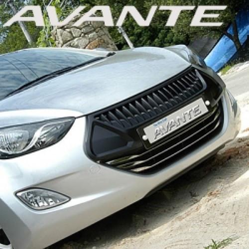 Решетка радиатора - Hyundai Avante MD / Elantra MD (MORRIS CLUB)