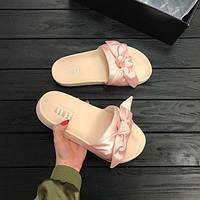 Тапочки женские Puma FENTY PINK Pink new