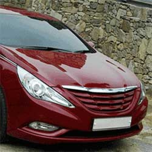Решетка радиатора Luxury - Hyundai YF Sonata / i45 (MORRIS)