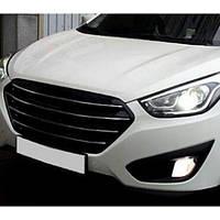 Решетка радиатора Luxury - Hyundai Tucson ix / New Tucson ix (CAR & SPORTS)