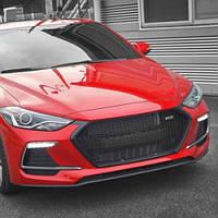 Решетка радиатора Sport - Hyundai Avante AD / Elantra AD (M&S)
