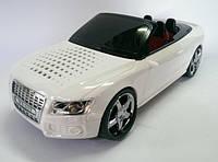 Портативная колонка машинка WS 599  белый