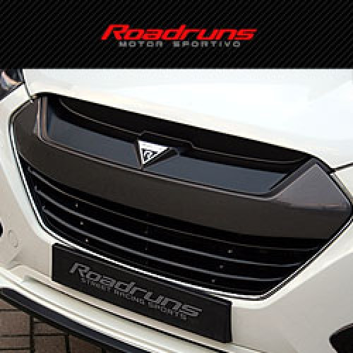 Накладка на решетку радиатора - Hyundai Tucson ix / ix35 (ROADRUNS)
