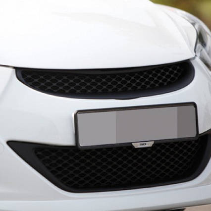 Решетка радиатора + нижняя решетка - Hyundai Avante MD / Elantra MD (NOBLE STYLE), фото 2