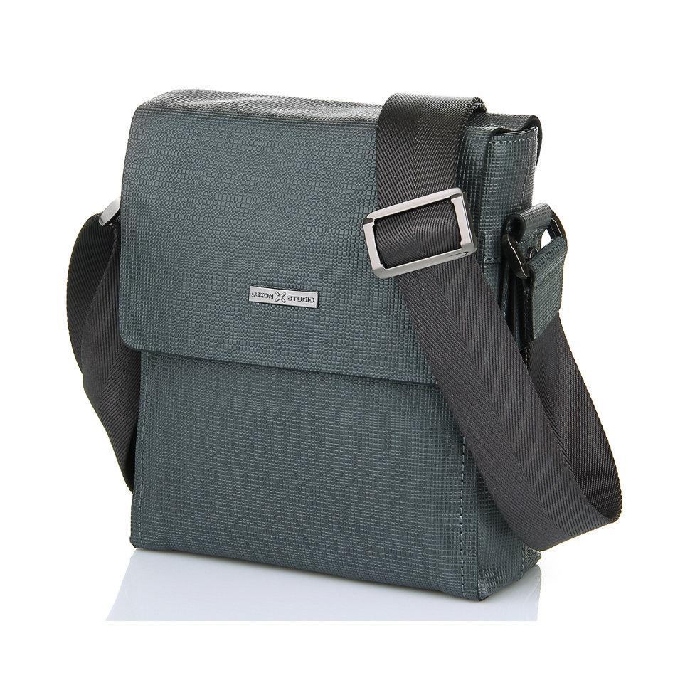 Серая мужская сумка Luxon 95-8021-6
