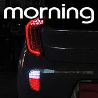 LED-модули задних рефлекторов (задний ход) - KIA All New Morning / Picanto (EXLED)