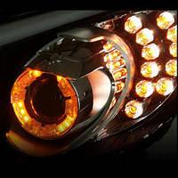 LED-кольца CC Power Daylight Apha (бело-желтые) - KIA K3 / New Cerato (XLOOK)