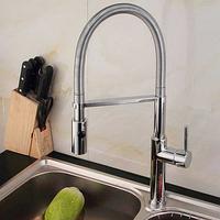 Смеситель для кухни 2908 RSA retro с гибкой лейкой , фото 1