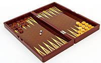 Настольная игра 3 в 1 Шахматы + Нарды + Нарды 5008: дерево, размер доски 50х50см
