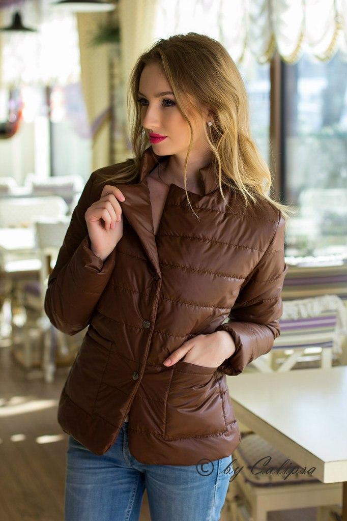 Куртка углы (ХАЛ) 9014 - Секрет  женская одежда оптом в Одессе