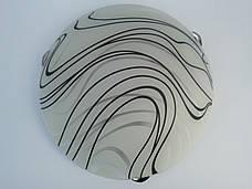 Светильник потолочный накладной круглый Бесконечность диаметр 30 см двух ламповый, фото 2