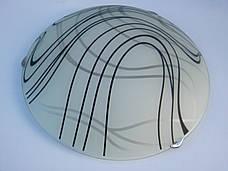 Светильник потолочный накладной круглый Бесконечность диаметр 30 см двух ламповый, фото 3