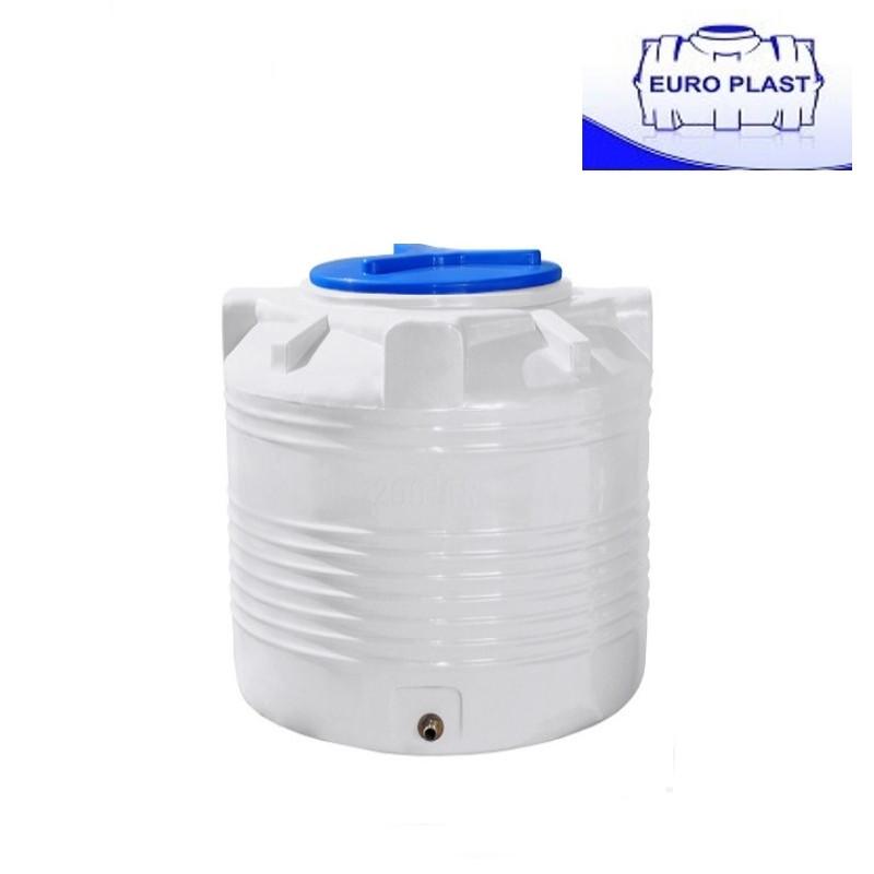 Пластиковая емкость 300 л Euro Plast RVО 300 вертикальная, однослойная
