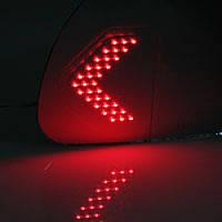 Асферические зеркала с LED повторителями и подогревом - Hyundai Santa Fe DM (KABIS)