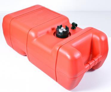 Бак топливный для подвестного лодочного мотора с датчиком топлива 24 литров