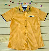 Стильная рубашка ,шведка  для мальчика рост 134, фото 1
