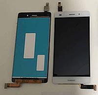 Оригинальный дисплей (модуль) + тачскрин (сенсор) для Huawei P8 Lite (белый цвет)