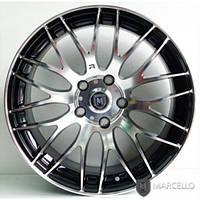 """Диски литые Marcello MR-10 Black Polishing Silver 17""""/5H для KIA Forte (MARCELLO)"""