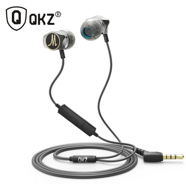 Наушники QKZ KZ X10 с микрофоном