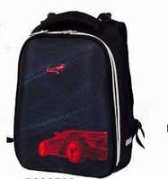 Ранец каркасный ортопедический Zibi Red Auto ZB17.0131RA