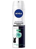 Дезодорант-антиперспирант NIVEA НЕВИДИМАЯ защита  для ЧЕРНОГО и БЕЛОГО Fresh  свежий  Спрей   150 мл